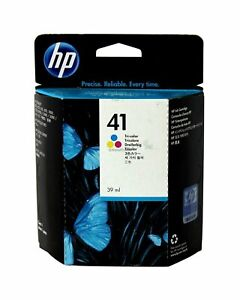 HP-41-Tri-Color-Ink-Cartridge-54641A-Genuine-New