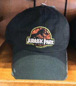 43609f61d Image is loading Universal-Studios-Exclusive-Jurassic-Park-Black-Baseball- Cap-