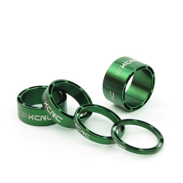Black KCNC AL6061 Alloy Bike Bicycle Hollow Headset Stem Spacer 3+5+10+14mm