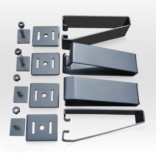 4x Universal Load Stops For Roof Racks Cross Bars with T Channel Van 4X4 Car