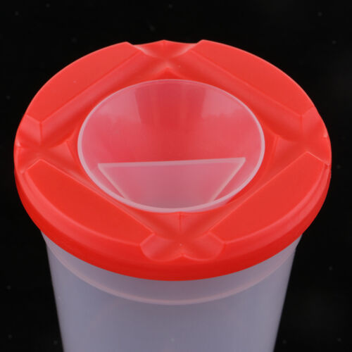 Lid Plastic Painting Cup Water Cups for Painting Brush Holder Container