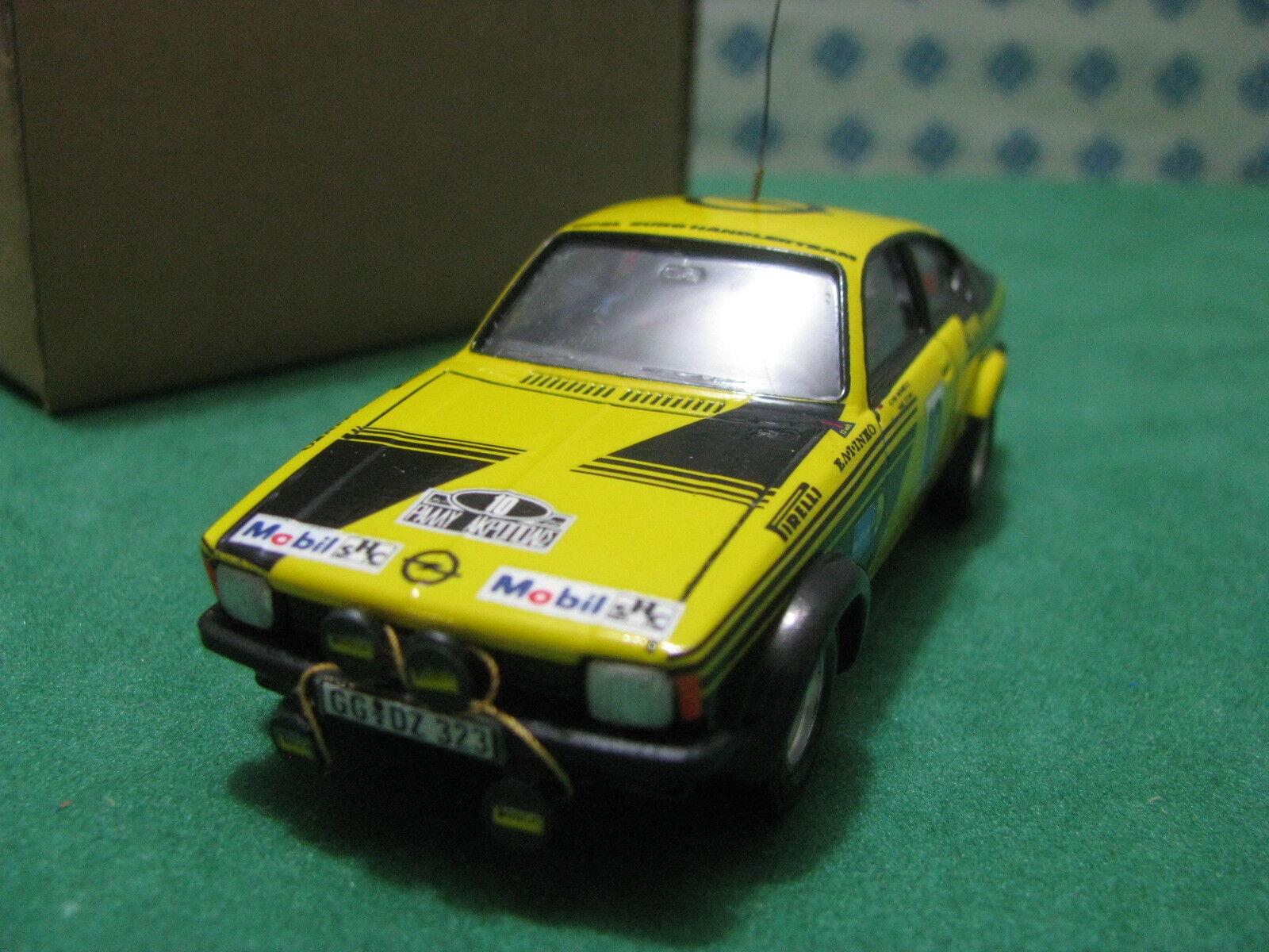 Vintage - Opel Manta GTE Coupe 1° Rally Acropolis - 1 43 Tab Solido