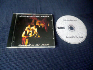 CD And Also The Trees - Farewell To The Shade | Gothic Rock Darkwave 1989