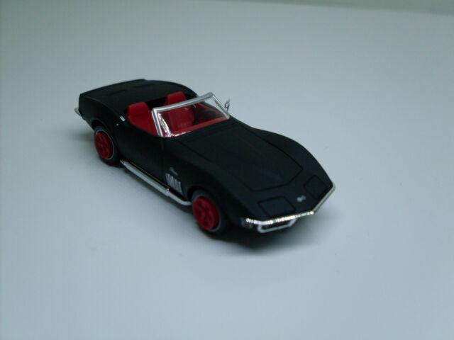 brekina 19973 chevrolet corvette c3 cabrio mattschwarz td g nstig kaufen ebay. Black Bedroom Furniture Sets. Home Design Ideas