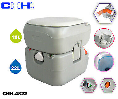 CHH 4822 X  Series Portable Toilet 3 gal fresh water, 6 gal holding tank, camping  sell like hot cakes