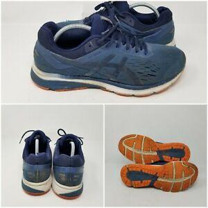 Asics-GT-1000-GEL-Navy-Orange-Cross-Running-Shoes-Sneakers-Mens-Size-11