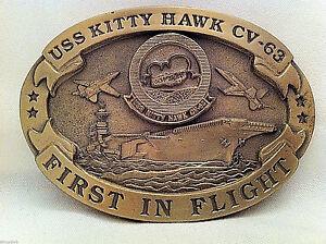 USS-Kitty-Hawk-Custom-Navy-Belt-Buckle-CVN-63-Solid-Brass