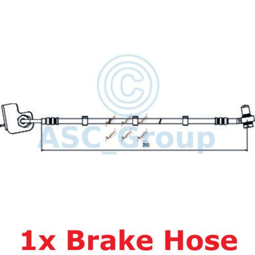 Pinza de freno de disco 410 mm APEC frenado Goma Flexible Manguera De HOS4011