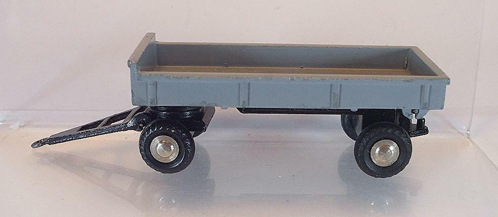 Schuco Piccolo 1 90 No.757 Kippanhänger - Trailer Trailer Trailer grey 3a2aba