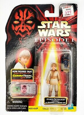 Hasbro Star Wars Episode 1 1998 Tatooine Anakin Skywalker Action Figure