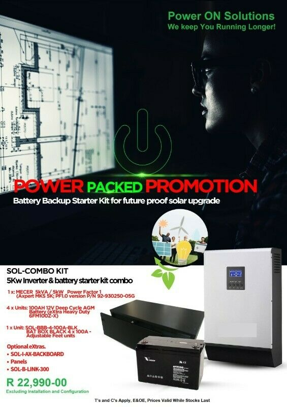 POWER PACKED PROMOTION