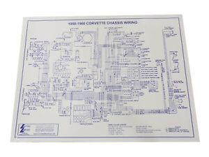details about 1958 1960 corvette wiring diagram laminated 17x22 wire diagram 1954 corvette wiring diagram 1960 corvette wiring diagram #12