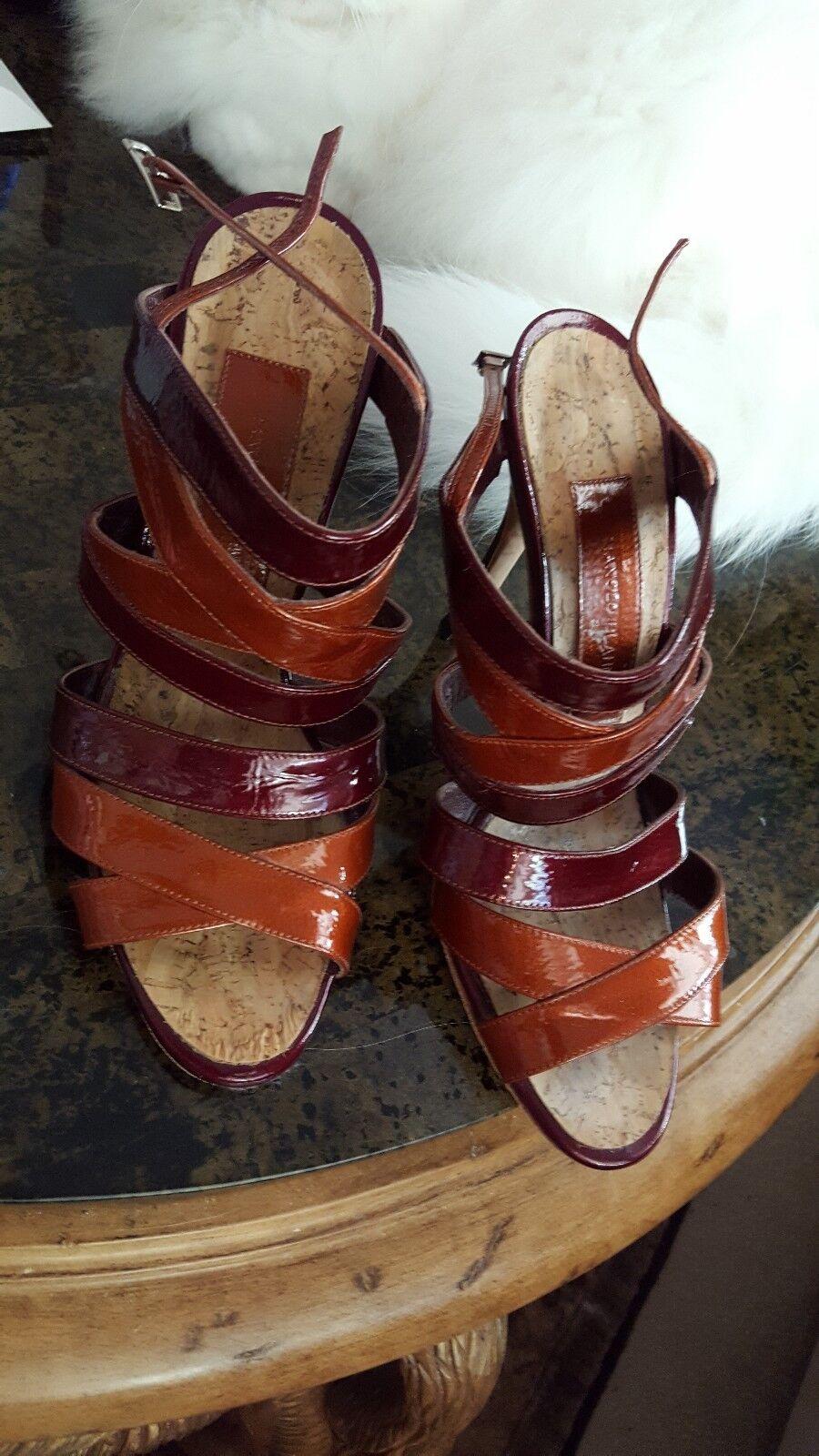 Manolo Blahnik Strappy Sandals 38.5 8.5