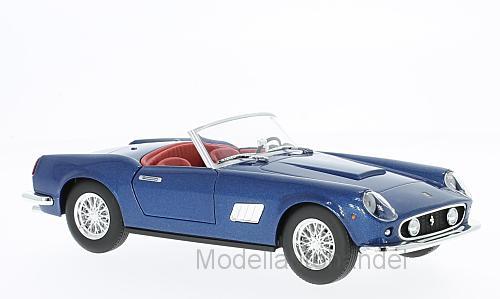 Burago-Ferrari 250 GT California Met. Bleu - 1 24 Bburago    Sale Out Price