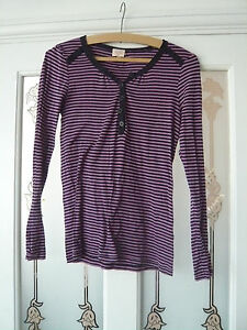 Lovely-pink-and-navy-striped-top-by-Whistles-size-3