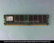 Samsung M368L6423DTM-CB3 DDR 512MB PC-2700 Non ECC 333Mhz RAM Memory