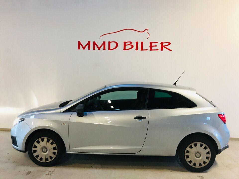 Seat Ibiza 1,4 16V 85 Reference Benzin modelår 2009 km