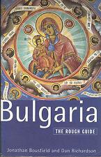 Bulgaria The Rough Guide by J. Bousfield & D. Richardson (Paperback 1994)