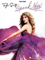 Taylor Swift Speak Now Sheet Music Easy Piano Book 000307243