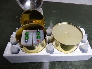 Batteriesatz für Handscheinwerfer 2 Stück Batterie NEU OVP Notlicht Iltis BW