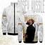 Nipsey hussle men/'s hoodie 3d printed casual baseball jacket blazer