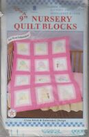 1 Jack Dempsey sunbonnet Babies Stamped Xstitch & Embroidery Nursery Blocks