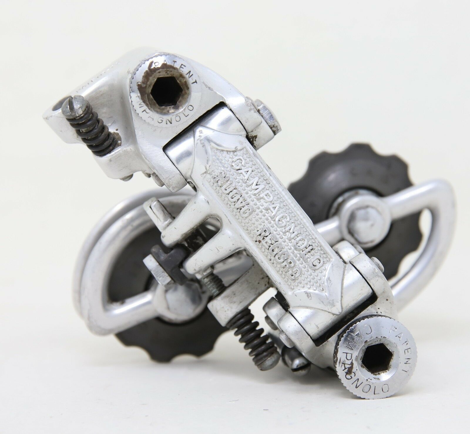 CAMPAGNOLO NUOVO RECORD 1972 PATENT 72 REAR MECH DERAILLSPEED ROAD PAT