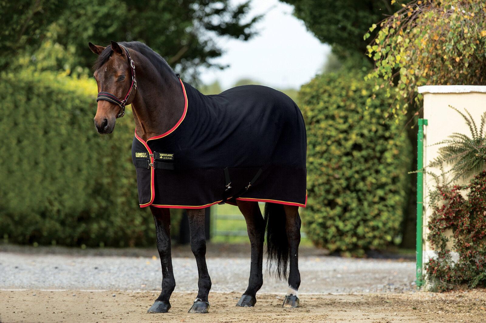 Horseware Rambo Softy Enfriador De Lana Alfombra De Viaje estable que absorbe Cálido 5' 0  -7' 3