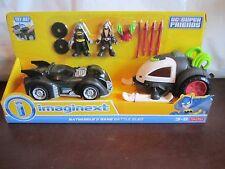 Fisher Price Imaginext DC Super Friends Batmobile & Bane Battle Sled Batman Set