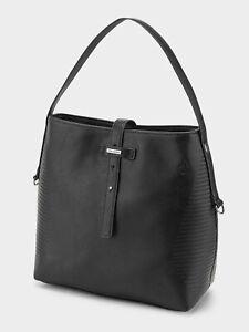 Volcom-Line-Bucket-Handtasche-black-schwarz-NEUWARE-Lederfrei-SALE