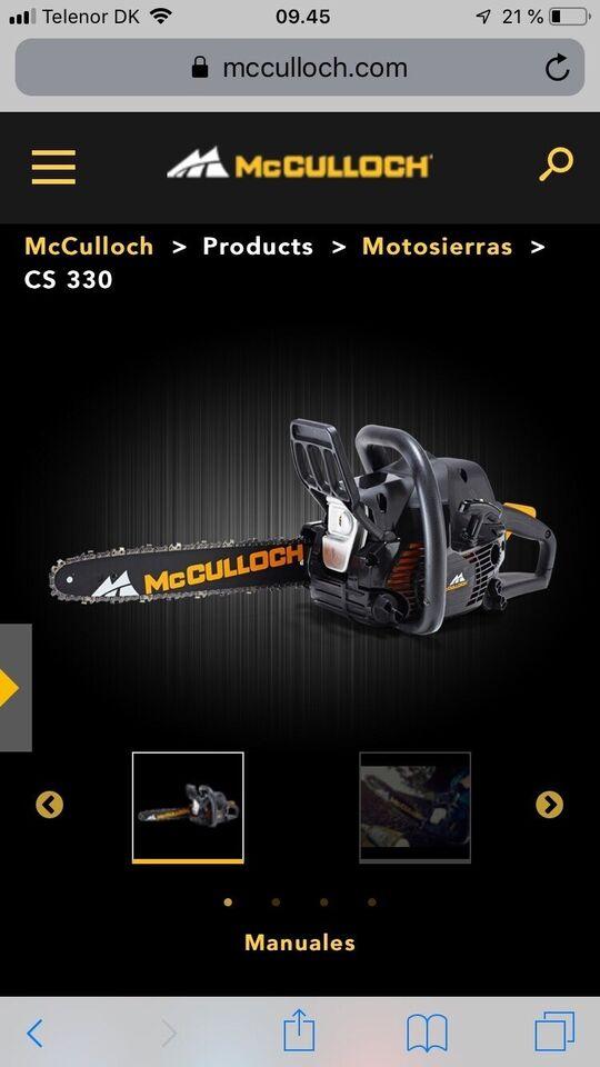 Motorsav, Mc Culloch