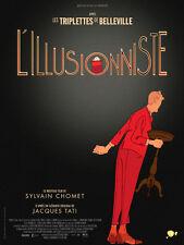 Affiche 40x60cm L'ILLUSIONNISTE (The Illusionist) 2010 Chomet - Jacques Tati TB#