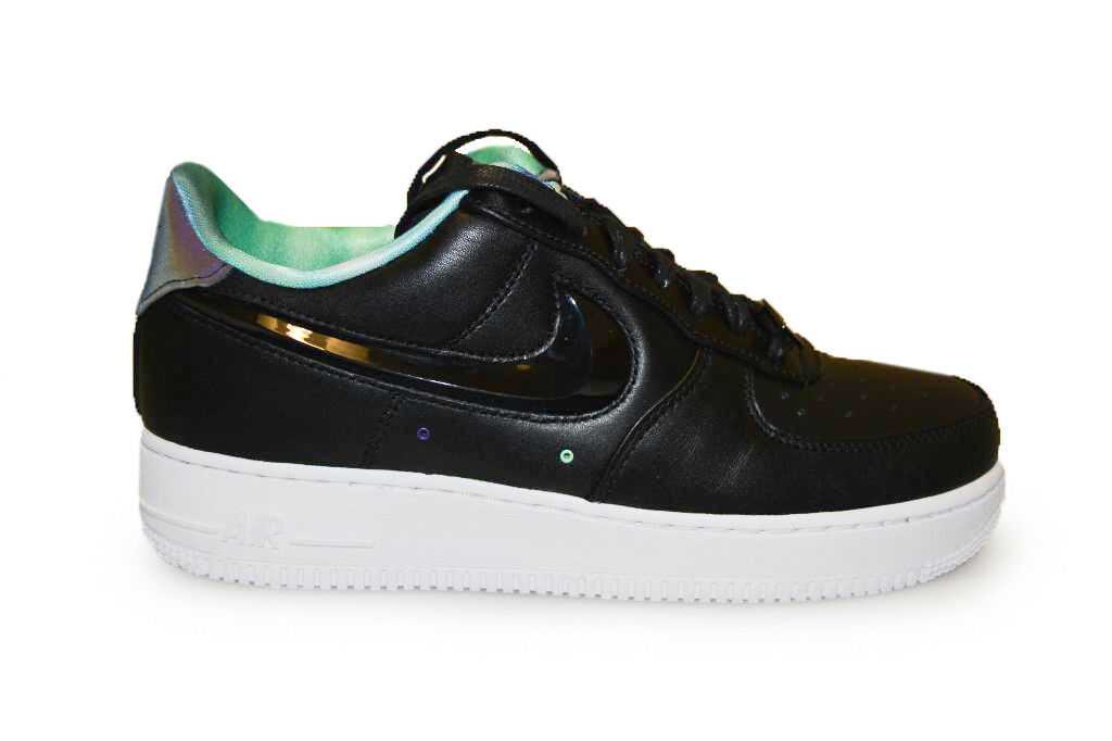 Mens Nike Air Force 1 - 488298 626 - Black White Trainers