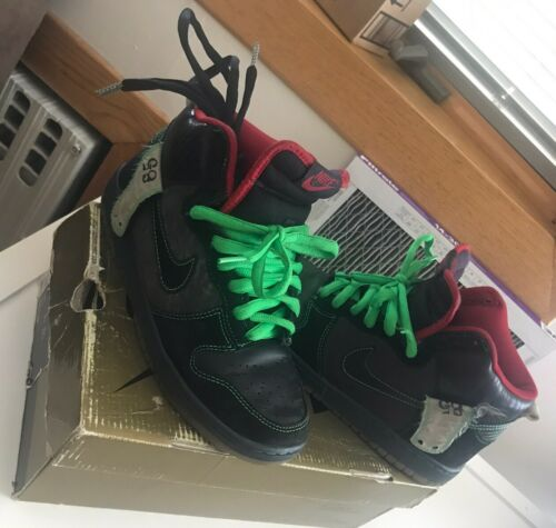 "Nike SB Dunk High Premium Size 7 ""Twin Peaks"""
