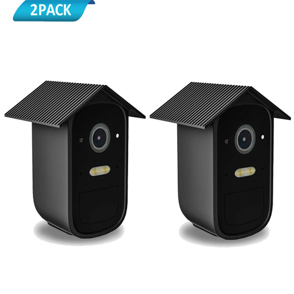 HOLACA Weatherproof Silicone Skins Cover for EufyCam 2C/2C Pro 2-pack