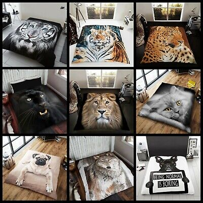 150x200 3D Animal Printed Throw Sofa Bed Soft Warm Throw Blanket In Double Size
