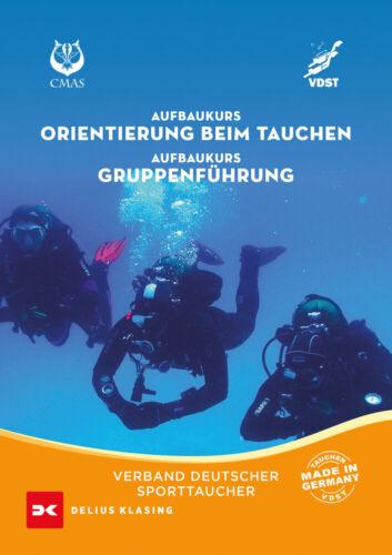 Aufbaukurs Orientierung beim Tauchen Aufbaukurs Gruppenführung Kompass Buch NEU