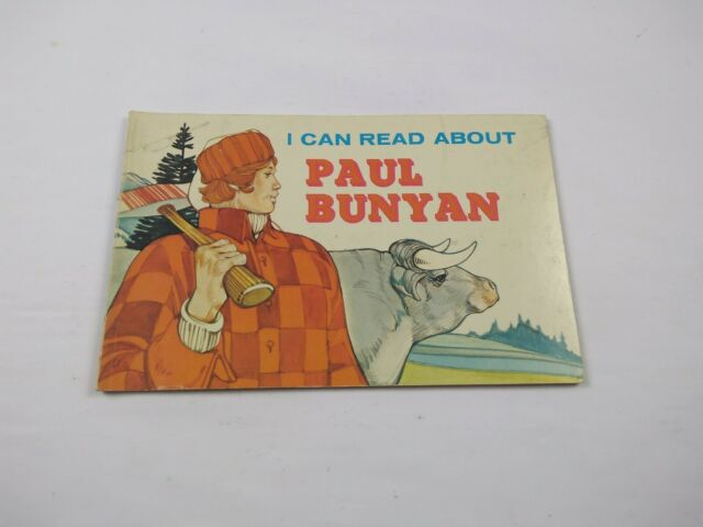 I Can Read about Paul Bunyan by J. I. Anderson (1977, Paperback) Vintage Book