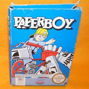 Details about VINTAGE 1988 NINTENDO ENTERTAINMENT SYSTEM NES PAPER BOY  CARTRIDGE VIDEO GAME