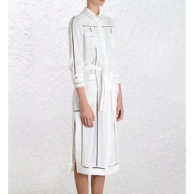 Zimmermann Ladder Shirt Dress