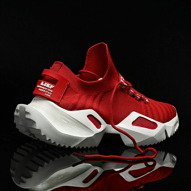 Men's Casual Trainers Walking Sports Sneakers Athletic Tennis Running Shoes Gym+