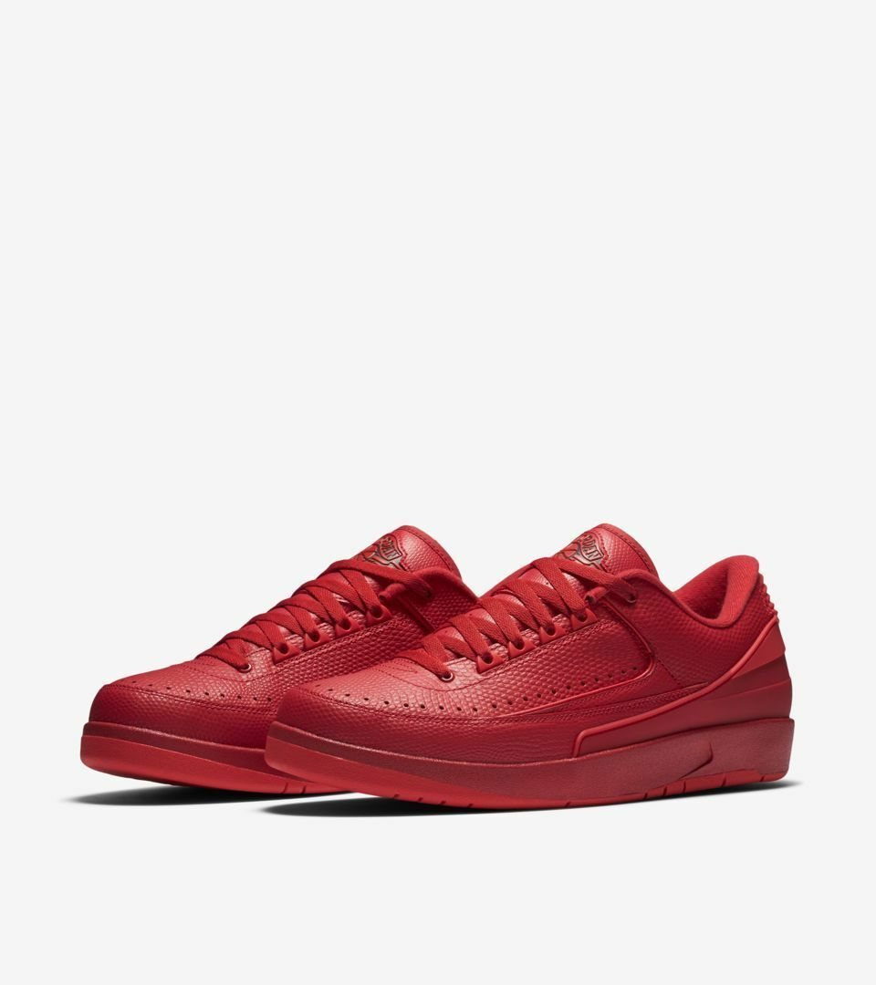 Hombre Nike BAJA Air Jordan 2 Retro BAJA Nike Rojo Zapatillas 832819 606 Varios Tamaños eab72e