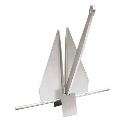 Danforth 94012 Anchor 9 lbs Hold 600 lbs High Strength Galv Steel Boat Marine MD