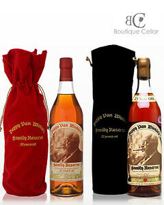 dc55022f502 Pappy Van Winkle 20 + 23 Year Old Family Reserve Bourbon Whiskey ...