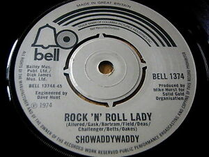 SHOWADDYWADDY-ROCK-039-N-039-ROLL-LADY-7-034-VINYL