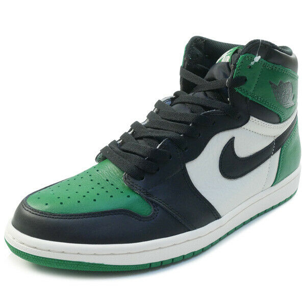 NIKE AIR JORDAN 1 RETRO HIGH OG Pine Green 555088-302 Sneakers GREEN US 9