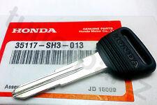 NEW Genuine OEM Honda Master Key Blank CR-V Odyssey CRX del Sol Prelude Civic