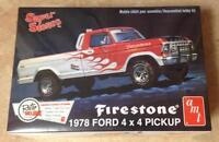 Amt 1978 Ford 4x4 Pickup Firestone Model Car Truck Kit 858