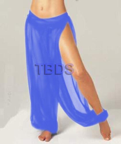 Women Harem Pant Student 1 Slit Yoga Genie Trouser Belly Dance Size Pantaloons