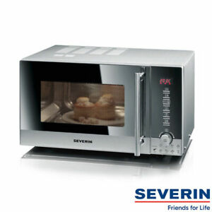 SEVERIN-Mikrowelle-Mikrowellenofen-Microwave-m-Grill-Heissluftfunkt-MW-7872